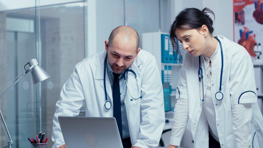 Disagreeing over a medical problem